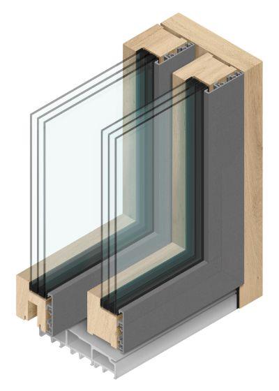 Hebeschiebe-Fenster AGM ISO-7600